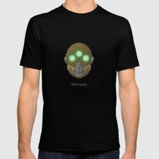 Loot#2 - Mask of the Third Man Black Mens Fitted Tee SMALL
