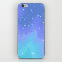 Twilight Nebula (8bit) iPhone & iPod Skin