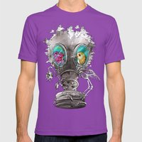 Intersection Mens Fitted Tee Ultraviolet SMALL