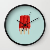 Trisicle Wall Clock