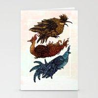 Legendary Birds Stationery Cards