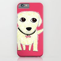 iPhone & iPod Case featuring Bichon Bolognese dog by Verene Krydsby