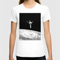 Apollonia Saintclair 579… Womens Fitted Tee White SMALL