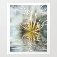 Dandelion Fantasy Art Print