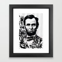 Lincoln A.D. 2012 Framed Art Print