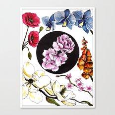 June Florals Canvas Print
