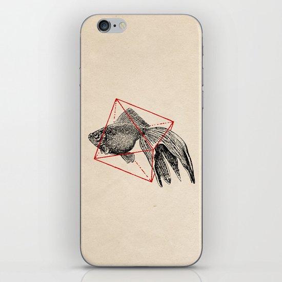 Fish In Geometrics III iPhone & iPod Skin
