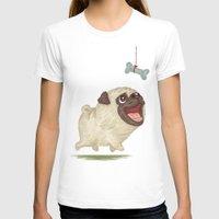 dog T-shirts featuring Dog by Toru Sanogawa