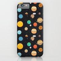 Cute solar system iPhone 6 Slim Case