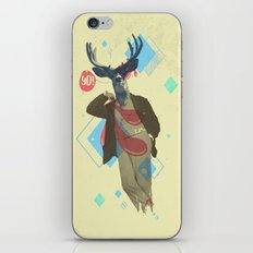 Yo! Deer Man iPhone & iPod Skin