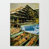 Club Sled Canvas Print