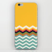 Retro Chevrons iPhone & iPod Skin