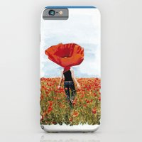 iPhone & iPod Case featuring Poppy Feeling by Volta's Online Store