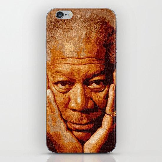 free-man iPhone & iPod Skin