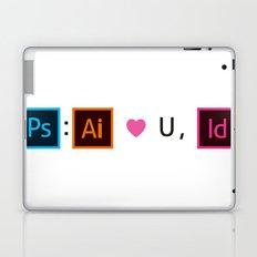 Designer's Valentine's Card Laptop & iPad Skin