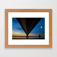 The Lone Photographer Framed Art Print