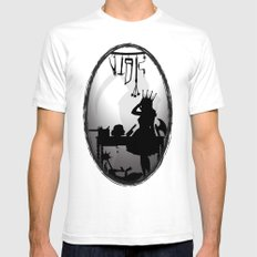 Who Can Deny How Delicious It Tastes Mens Fitted Tee White SMALL