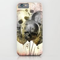 iPhone & iPod Case featuring Skulloons B10 by Lazy Bones Studios