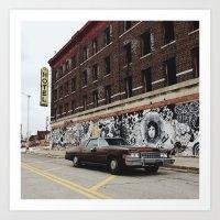 Hotel Roosevelt - Detroi… Art Print