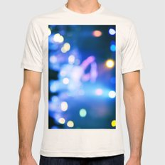 It's Party Time #2 #Blue Mens Fitted Tee Natural SMALL