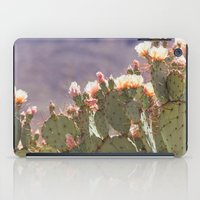 Prickly Pear Blooms I iPad Case