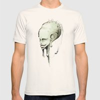 _mind Mens Fitted Tee Natural SMALL