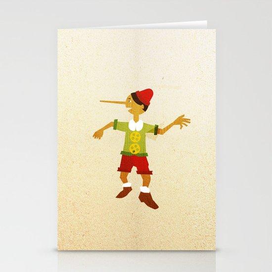 Pinocchio Stationery Card
