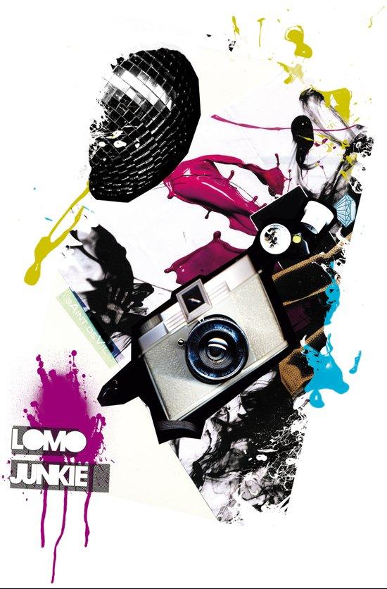 :: LOMO JUNKIE Art Print
