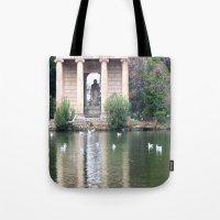 Reflection At Villa Borg… Tote Bag