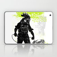 Rooster Man Microphone Laptop & iPad Skin