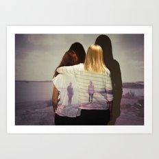 Together & Alone Art Print