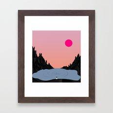 Glory // Story Framed Art Print