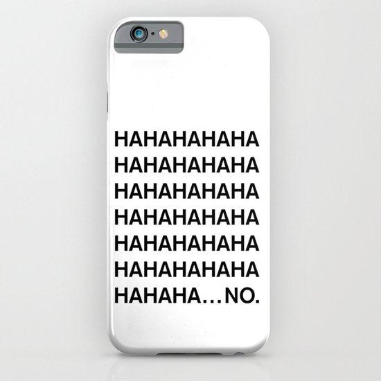 HAHA iPhone & iPod Case