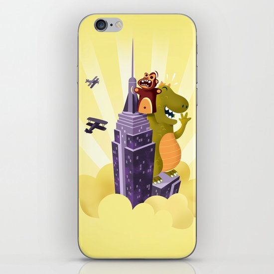 The puppeteer iPhone & iPod Skin