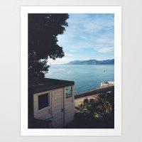 Alcatraz View Of San Fra… Art Print