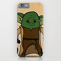 iPhone & iPod Case featuring Yoda by thejrowe