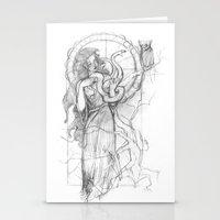 Athena Doesn't Like Gorg… Stationery Cards