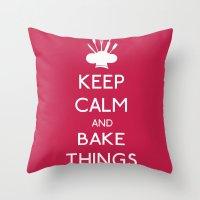 Bake Things Throw Pillow