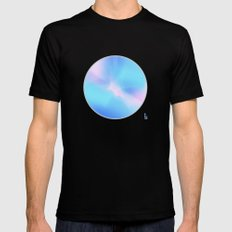Stardust Mens Fitted Tee SMALL Black