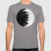 Pine Cones Mens Fitted Tee Tri-Grey SMALL
