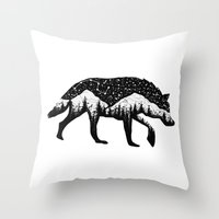Nightcall  Throw Pillow