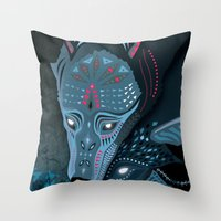 I Am Neither Walker Nor … Throw Pillow
