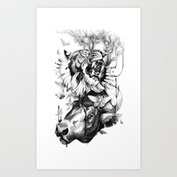 Destructive Creation Art Print