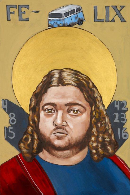 Saints of LOST | Hurley Art Print