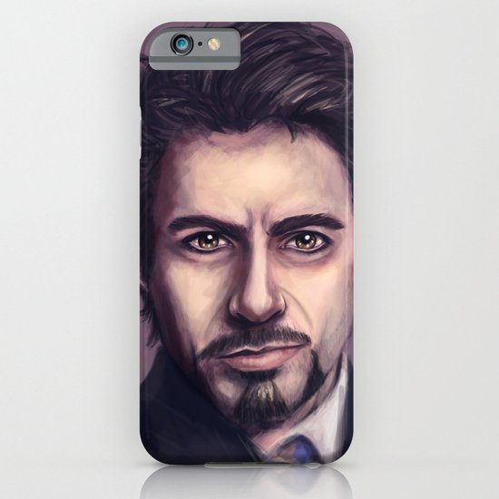 Tony Stark iPhone & iPod Case