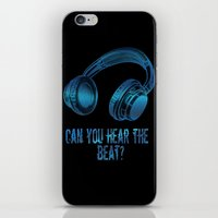 Can you hear the  beat? iPhone & iPod Skin