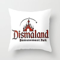 Dismaland Throw Pillow
