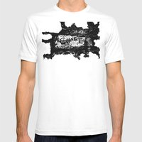 Ghostwritten Mens Fitted Tee White SMALL