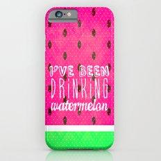 Drinking Watermelon Slim Case iPhone 6s