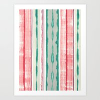 Canyon Stripe Art Print